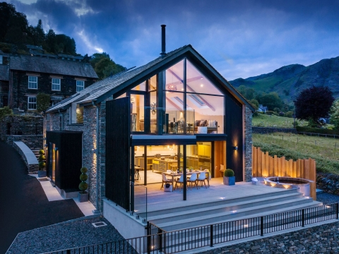 The best group winter cottages across the UK